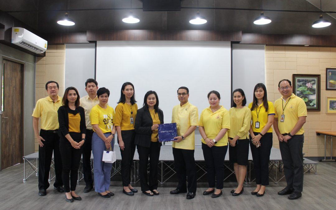 May 17, 2019 The Board of Investment  visited Siam Bioscience's factory