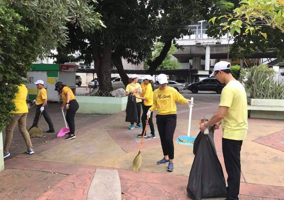 Jul 25, 2018 Siam Bioscience Group and Srijulsup Building participated in Big Cleaning Day