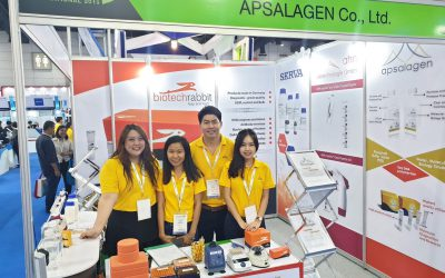 Sep 25, 2019 Apslagen Co.,Ltd exhibited a booth at Thailand Lab International 2019