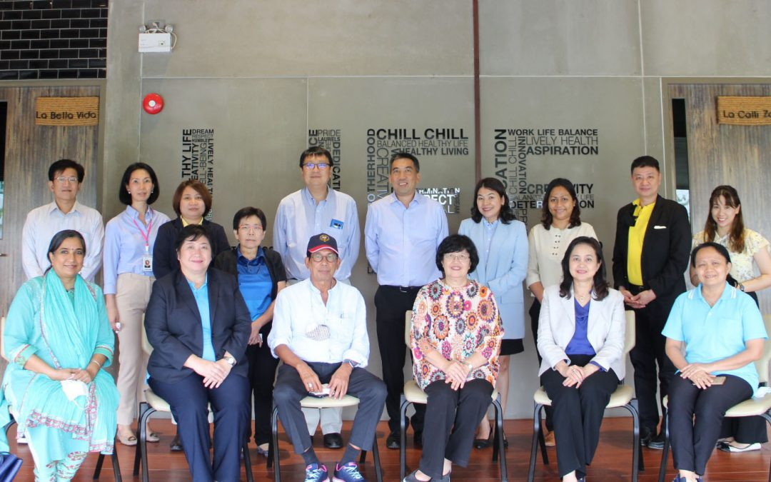 National Vaccine Institute visited Siambioscience plant